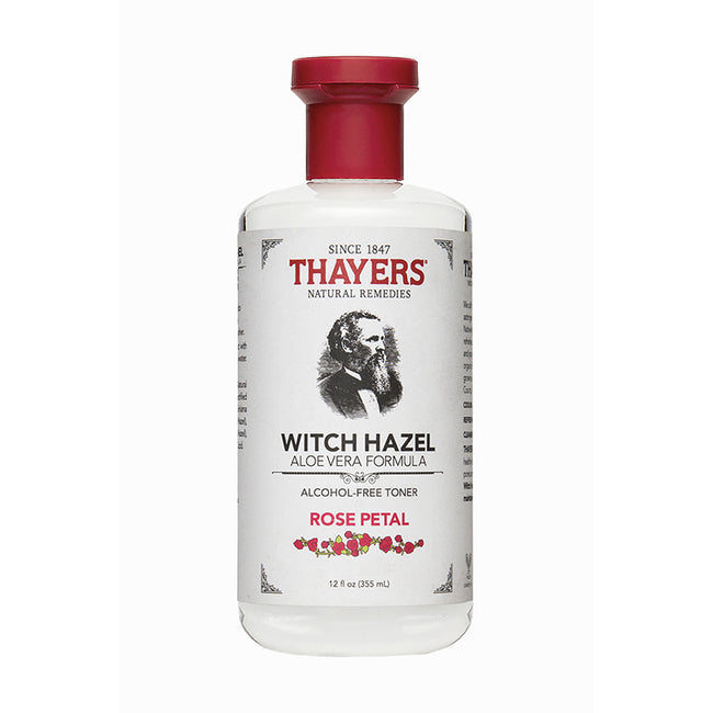 Thayers - Alcohol-Free Rose Petal Witch Hazel Toner 355 ML - Aftershave Toner