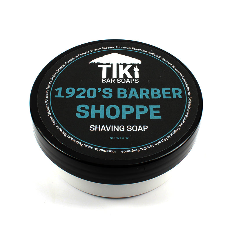 Tiki Bar Soaps - 1920's Barber Shoppe - Tallow Shaving Soap