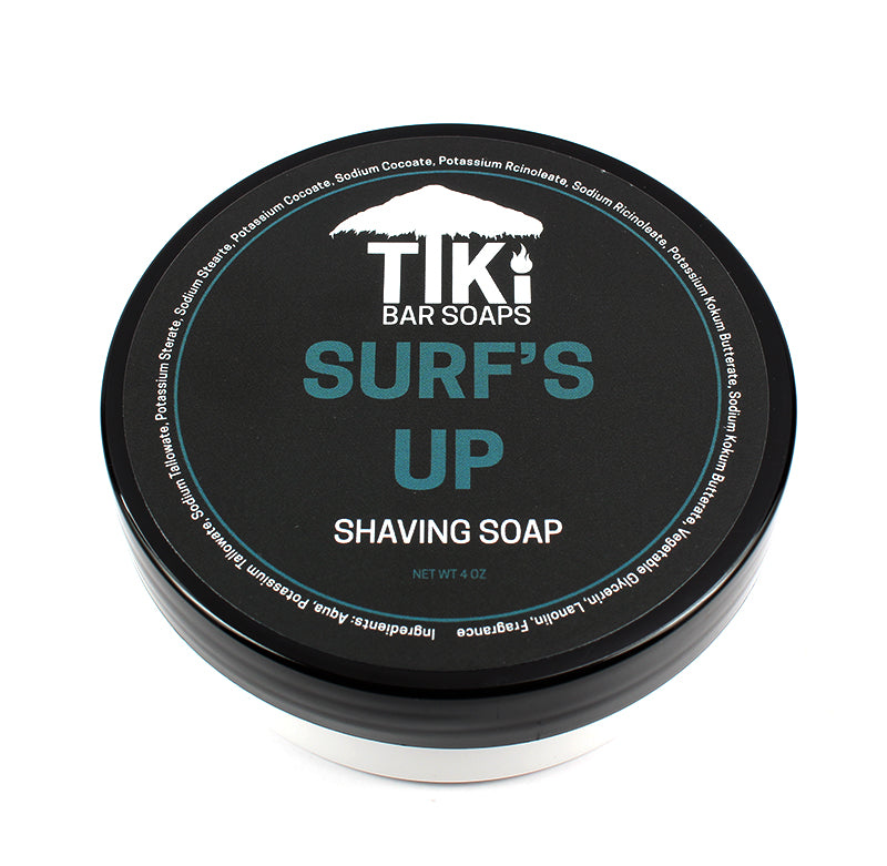 Tiki Bar Soaps - Surf's Up - Tallow Shaving Soap
