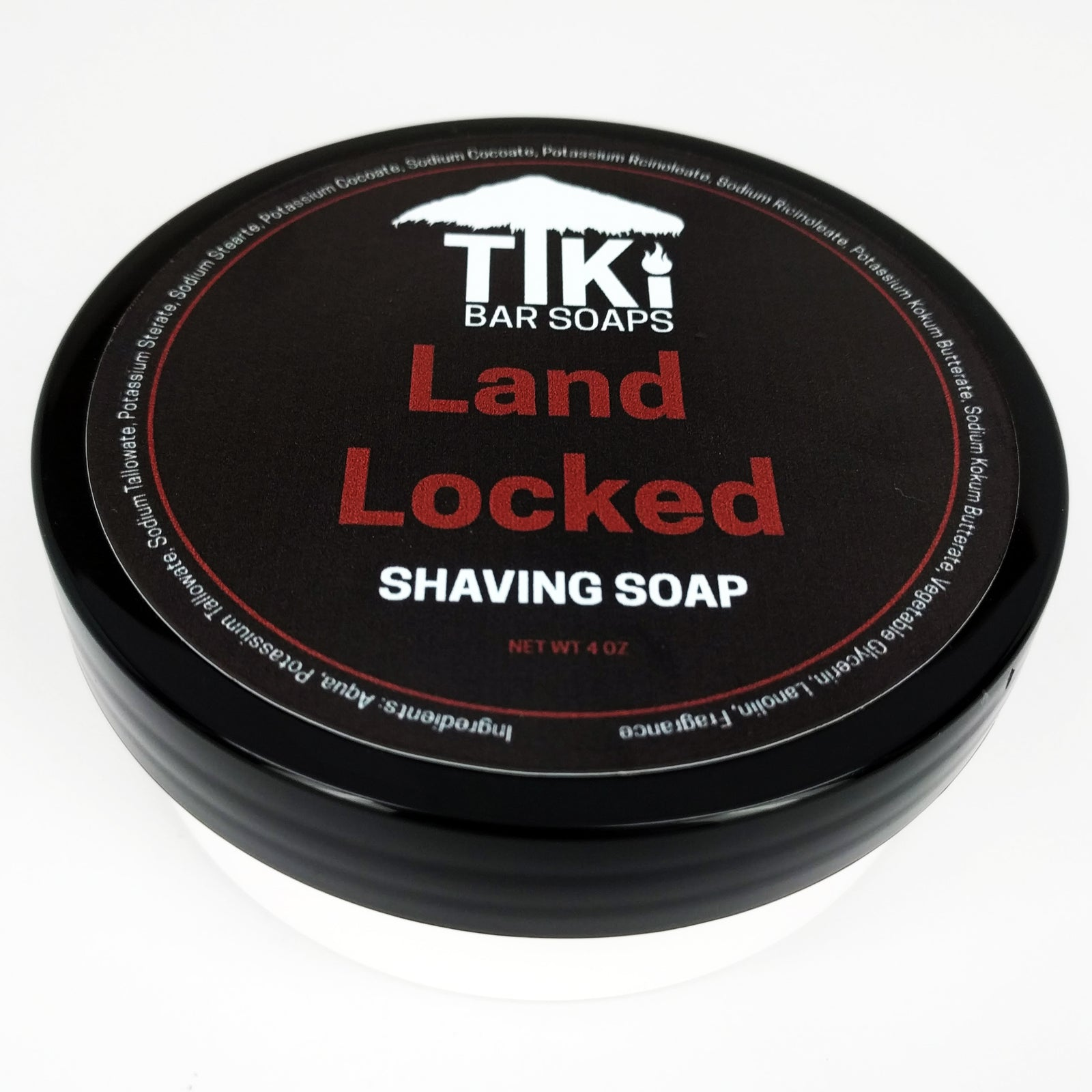 Tiki Bar Soaps - Land Locked - Tallow Shaving Soap