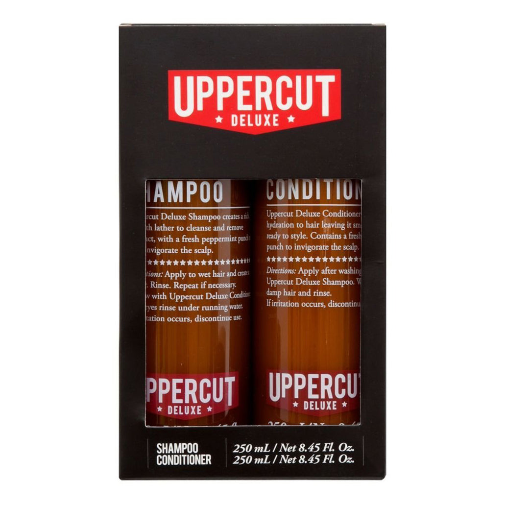 Uppercut Deluxe - Shampoo and Conditioner Duo Kit