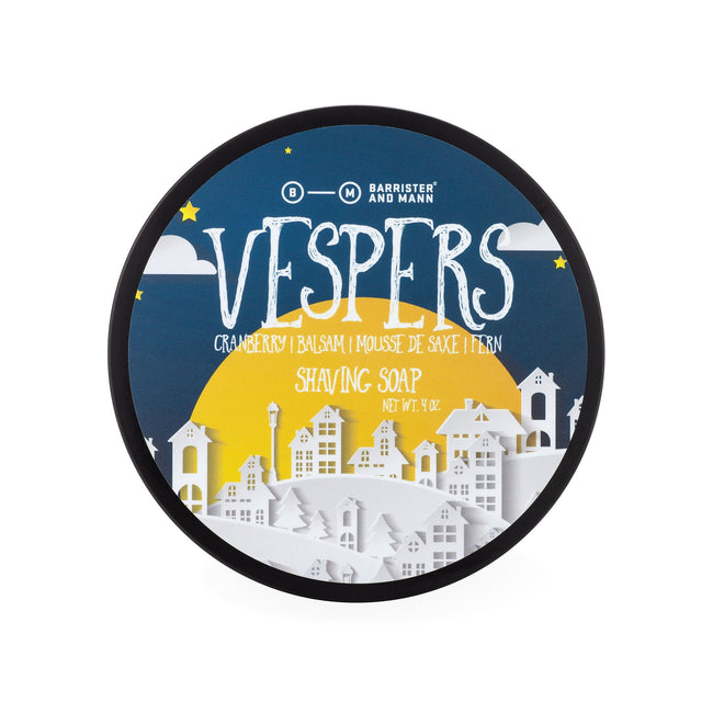 Barrister and Mann - Vespers Tallow Shaving Soap