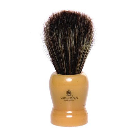 Vie-Long - Horse Hair Shaving Brush, Cream Handle - 12601