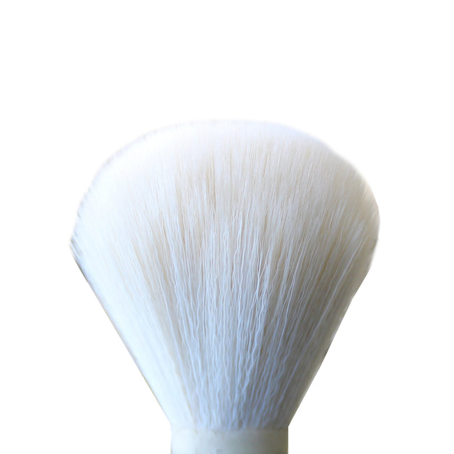 White Synthetic Shaving Brush Knot 24mm