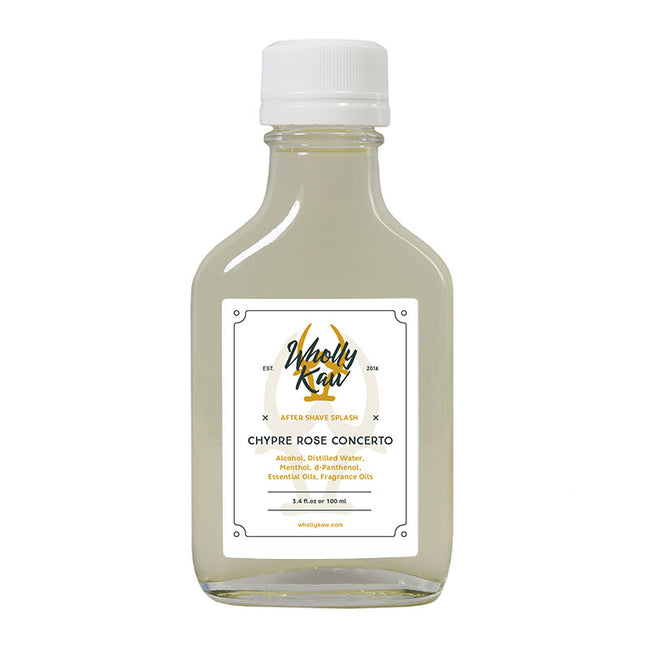 Wholly Kaw - Chypre Rose Concerto Aftershave Splash