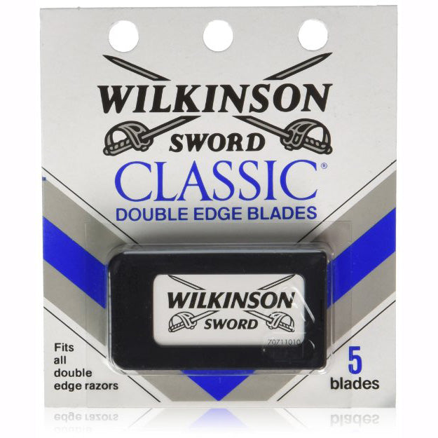 Wilkinson Double Edge Razor Blades 5 Pc Blister Pack