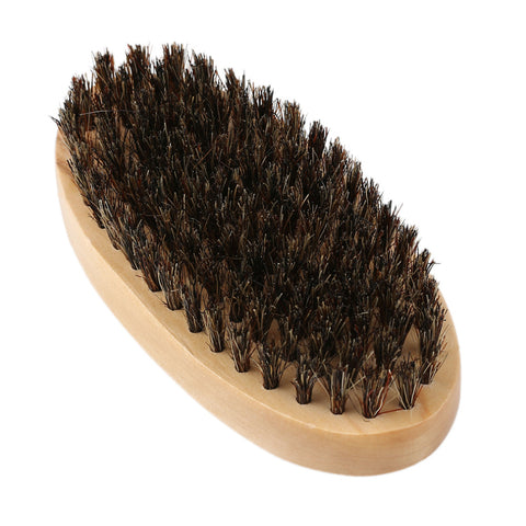 Carved Wooden Beard Comb