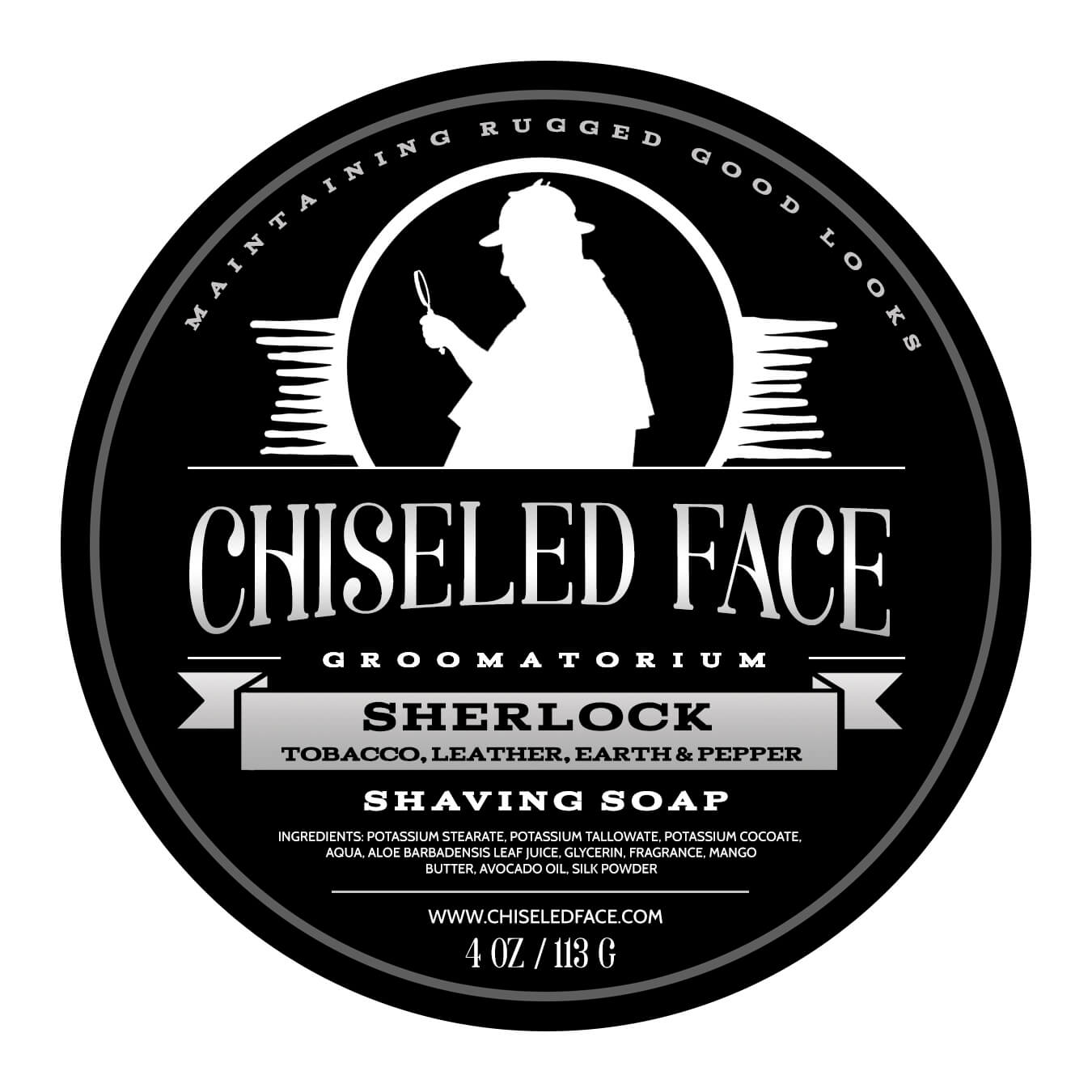 Chiseled Face – Sherlock – Shaving Soap