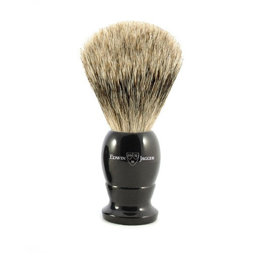 Edwin Jagger Imitation Ebony Best Badger Shaving Brush