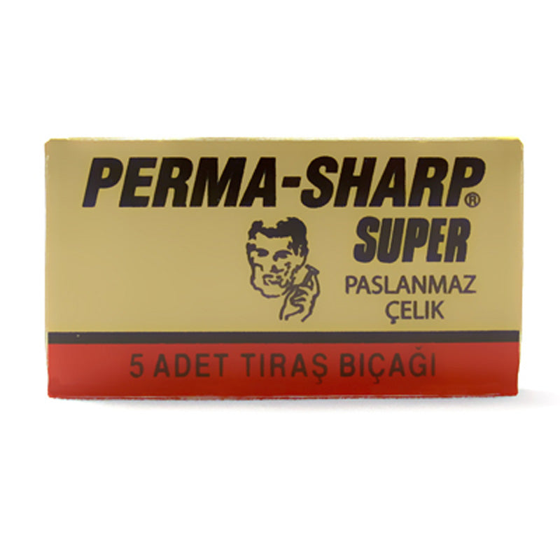 Perma-Sharp DE Safety Razor Blade 5 Pack