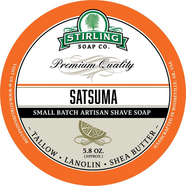 Stirling Soap Co. - Satsuma Shaving Soap