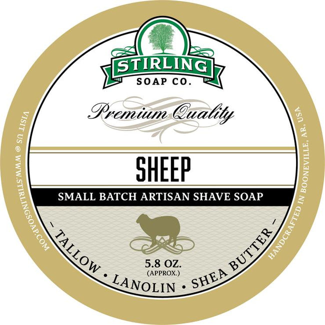 Stirling Soap Co. - Sheep Shaving Soap