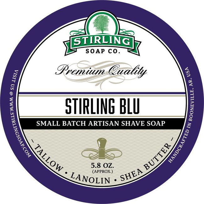 Stirling Soap Co. - Stirling Blu Shaving Soap