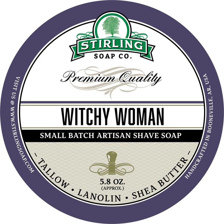 Stirling Soap Co. - Witchy Woman Shaving Soap