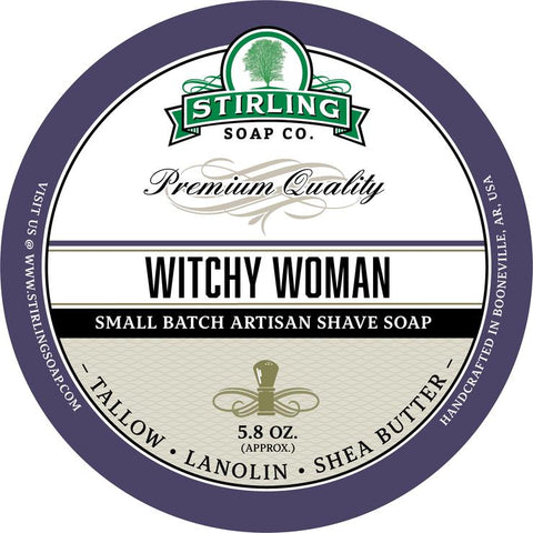 Stirling Soap Co. - Tea Tree Shaving Soap