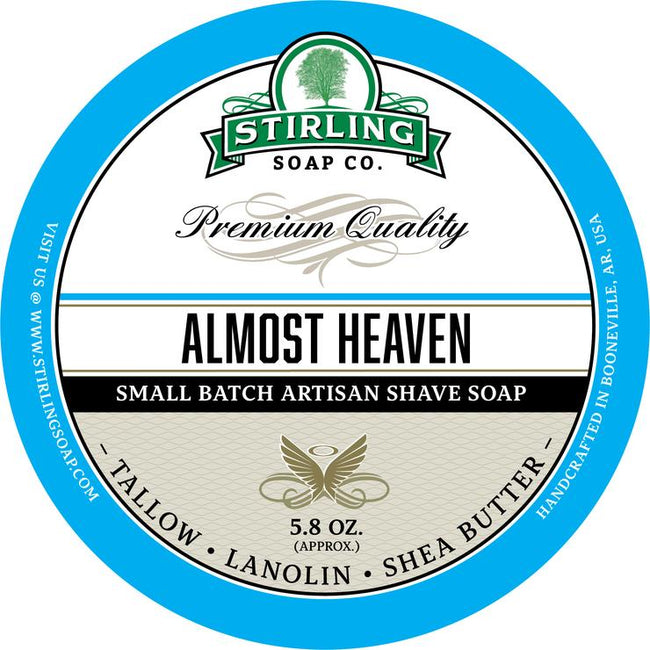 Stirling Soap Co. - Almost Heaven Shaving Soap