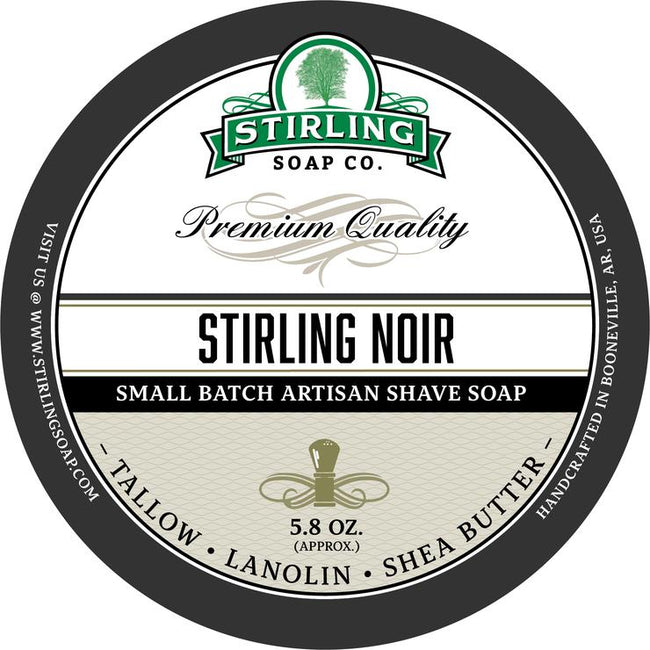 Stirling Soap Co. - Stirling Noir Shaving Soap