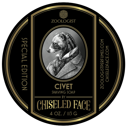 Chiseled Face / Zoologist – Civet Shaving Soap