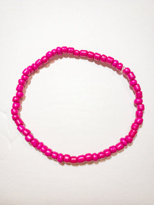 Seed Bead Bracelet Add-on | Pink