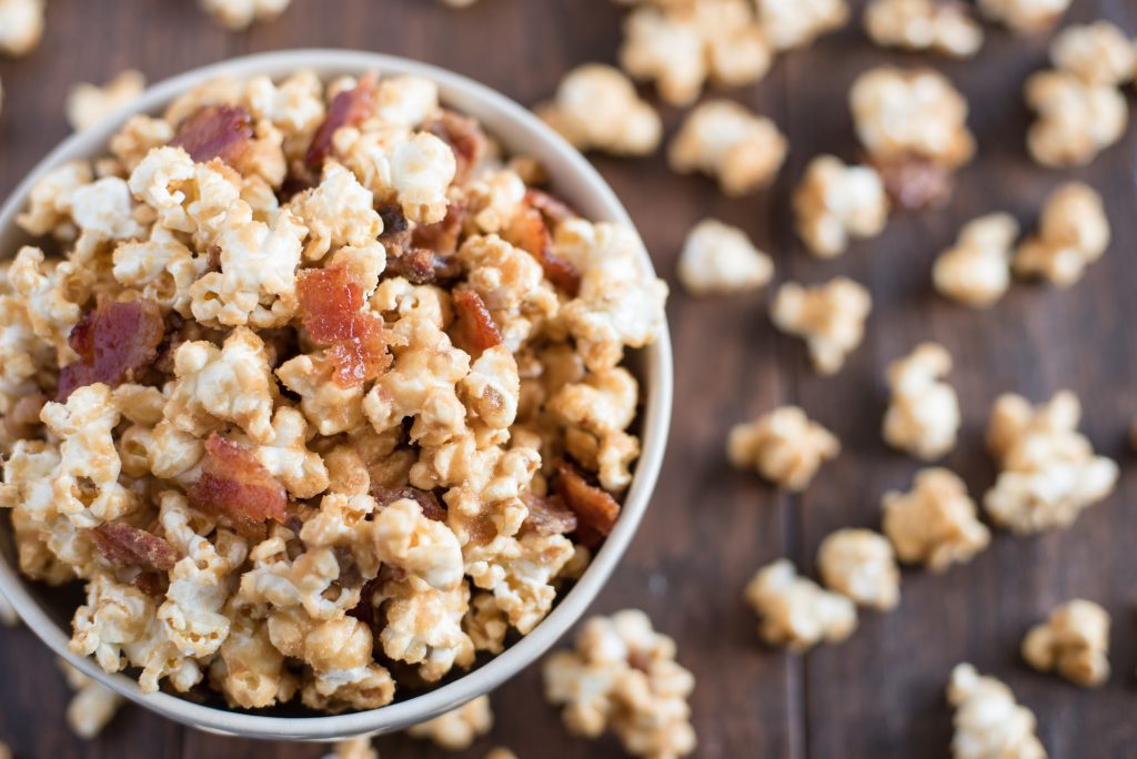 Maple Bacon SUPER BOWL POPCORN