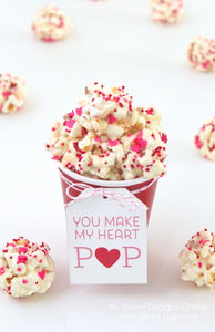 Valentines Date Night Popcorn