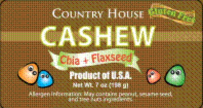 Country House Clean Label Nut Mix Snacks