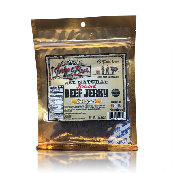 Jerky Bros Beef Jerky Sweet Tender Brisket Protein All Natural