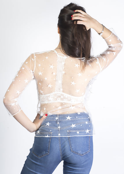 Seeing Stars Mesh Shirt