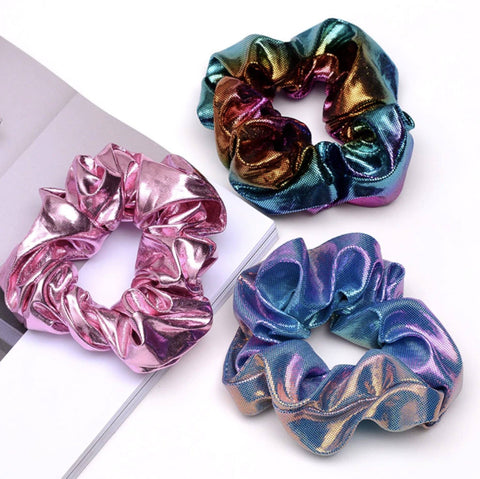 Metallic Scrunchie