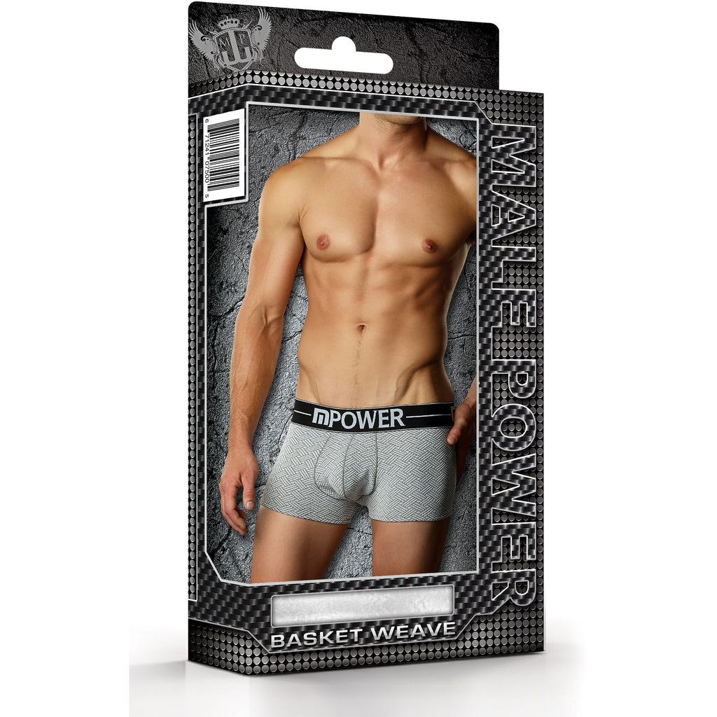 Male Power Mini Pouch Short Grey