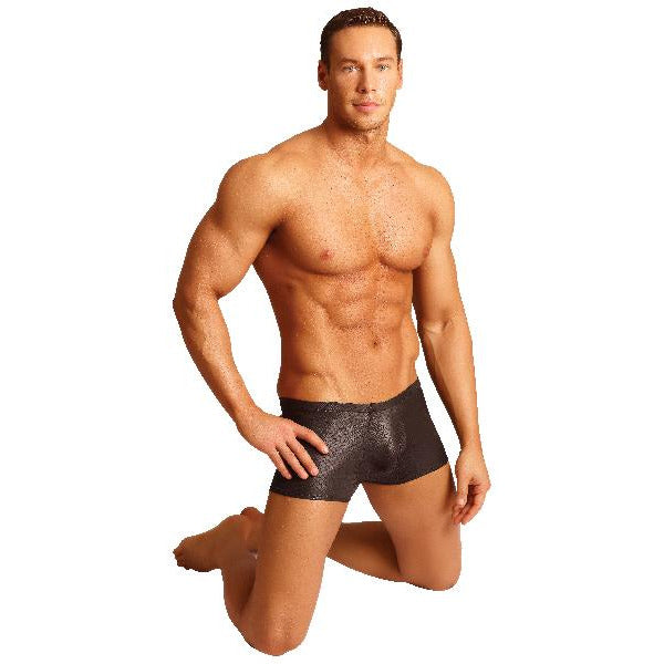 Male Power Black Cobra Mini Short