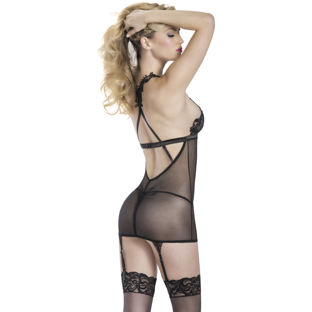 Venise Lace Babydoll and G-String