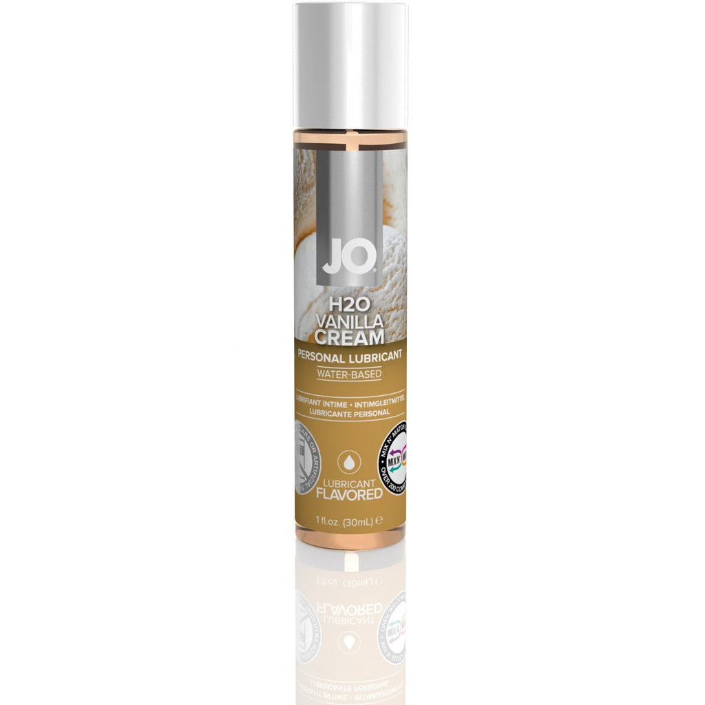 JO H2O Flavored 1 Oz / 30 ml Vanilla Cream (T)
