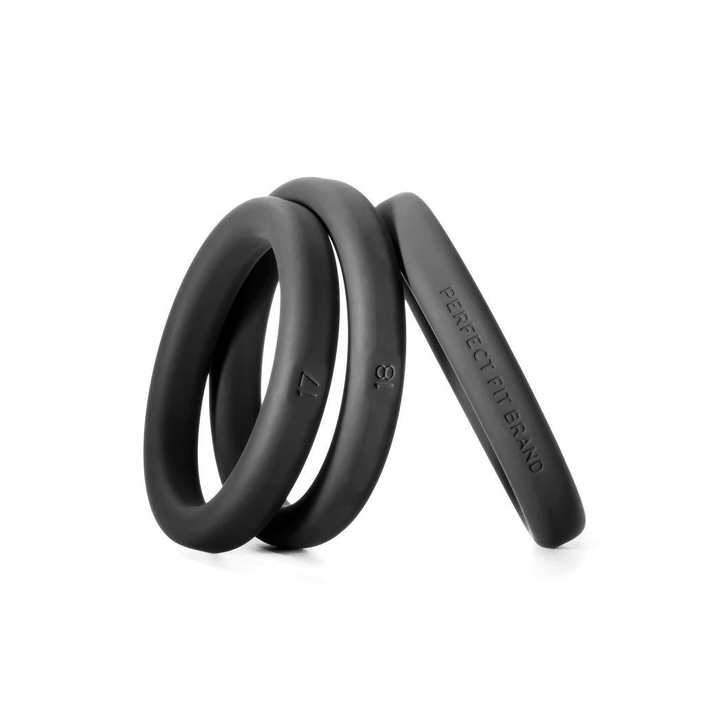 Xact-Fit Silicone Rings Large 3 Ring Kit