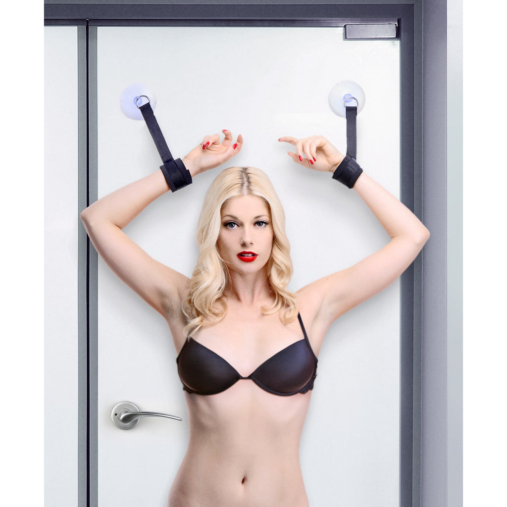 Hands UP! Suction Cup Cuffs