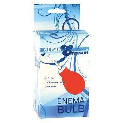 Bulb Anal Clean Enema Red