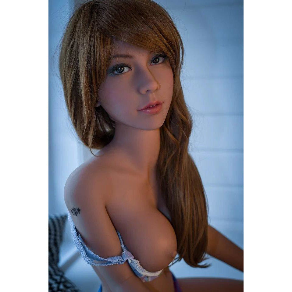 140cm Beautiful Rebecca Full Sized Realistic Heating and Intelligent Silicone Sex Doll