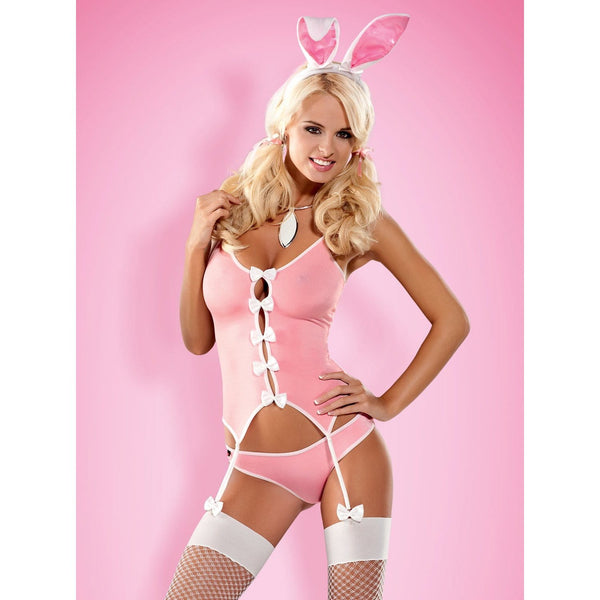 Bunny Suit 4 Pcs Costume