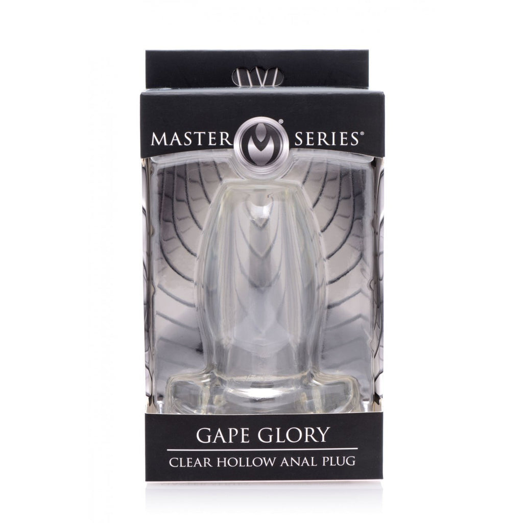 Gape Glory Clear Hollow Anal Plug