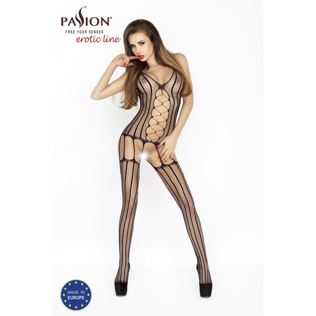 Bodystocking BS013 Black