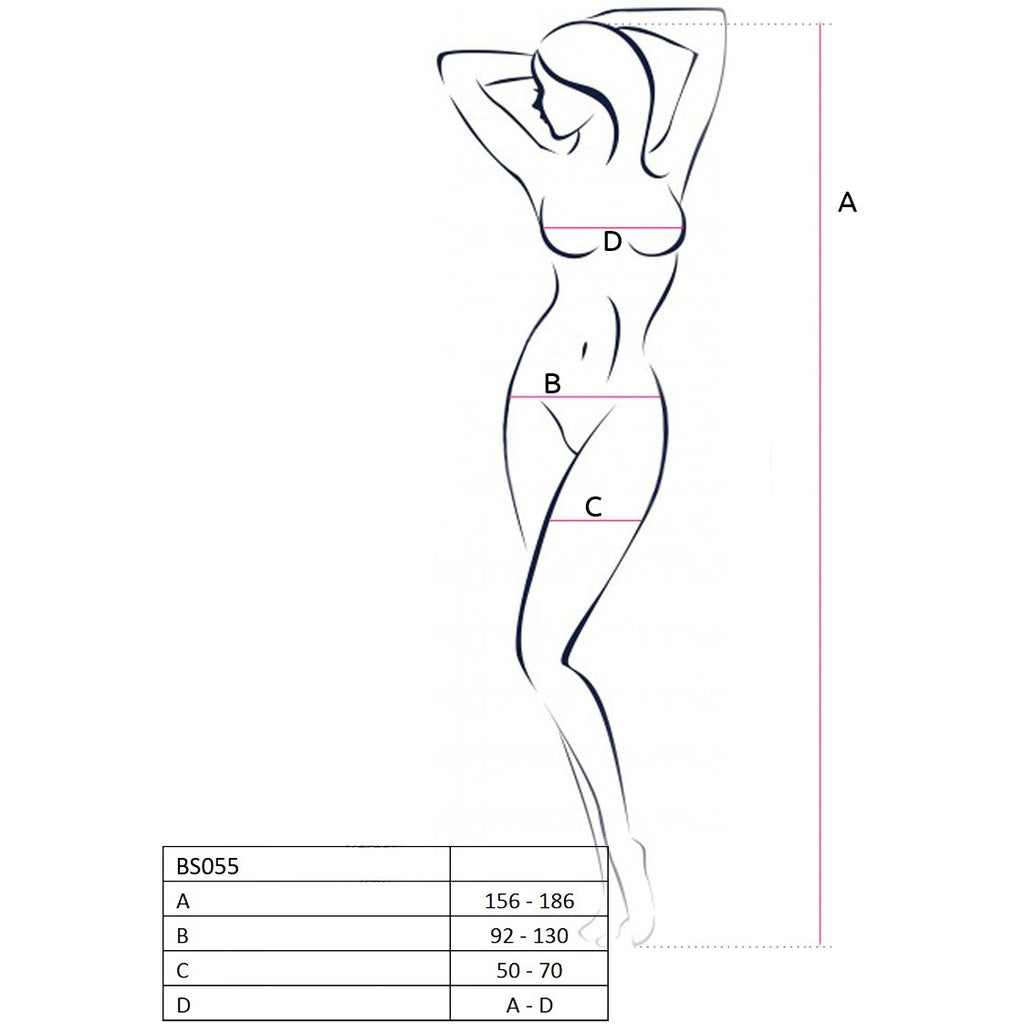 Bodystocking BS055 White