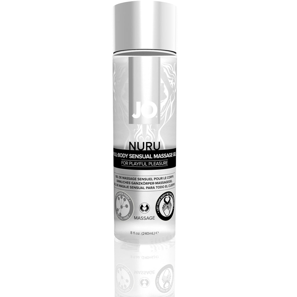 JO Nuru Massage Gel - Fragrance Free - Massage 8 Oz / 240 ml