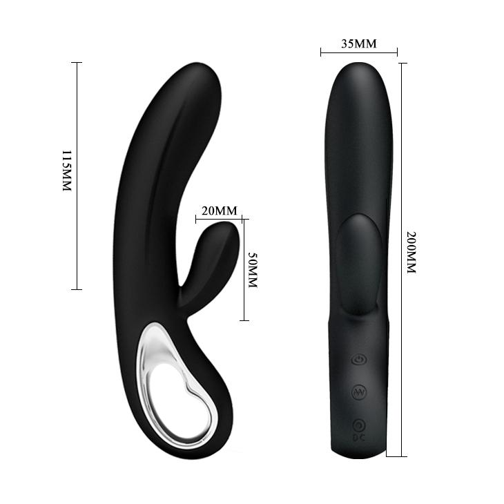 "Vibrator Black ""Elmer"" 210mm"