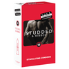 Condom 12pk Studs & Ribs 52mm - (Sold In Packs Of 6)