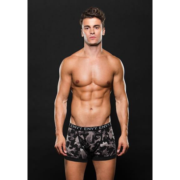 Logo Elastic Boxer Brief (D)