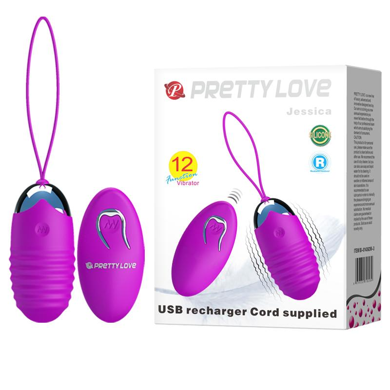 Vibrating Egg Rechargeable - Jessica