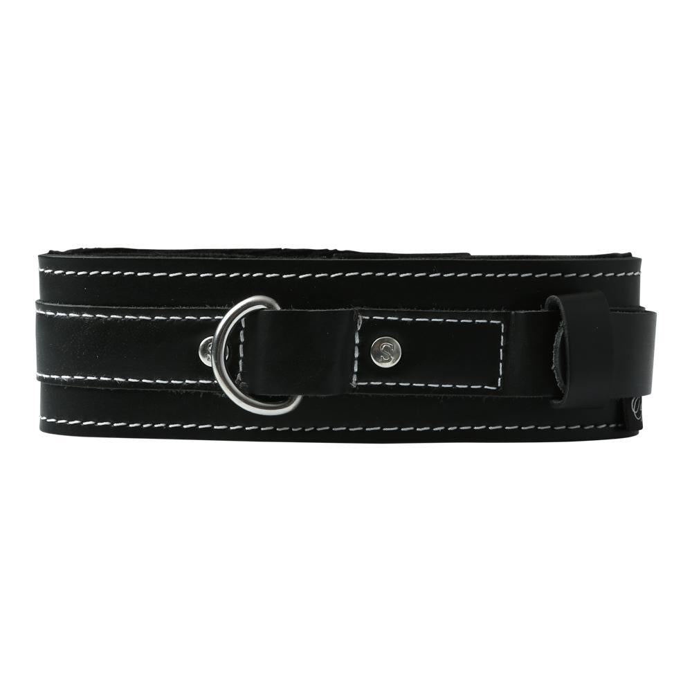 Edge Lined Leather Collar (D)
