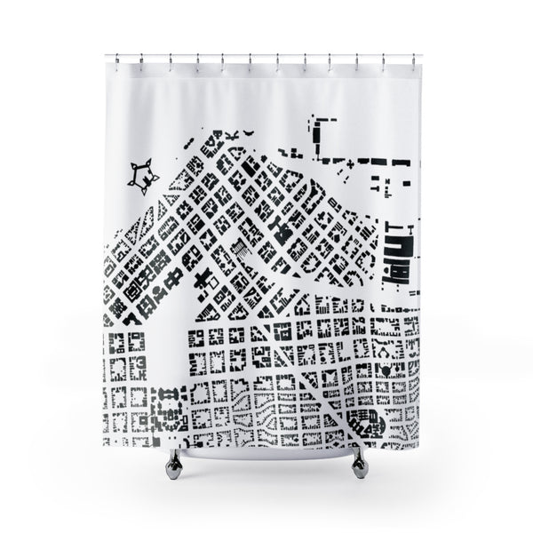 Port Lettendorp (set in South Africa): Shower Curtains