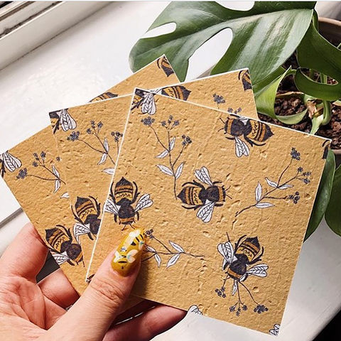 BEE THE CURE Plantable Gift Card