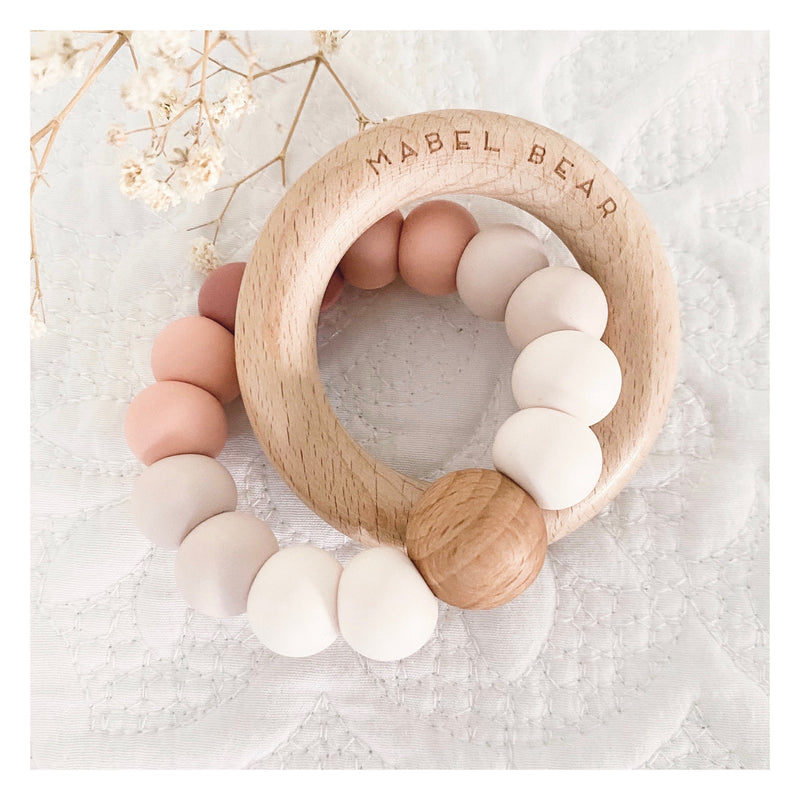 Dakota Sunset Teething Ring
